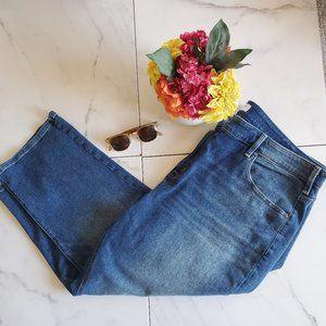 Lane Bryant High-Rise Stretch Straight Crop Jeans
